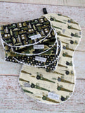 Baby Boy Burp Cloths - Camouflage Burp Cloths - Military Inspired Burp Cloths
