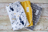 Buffalo Burp Cloth Set