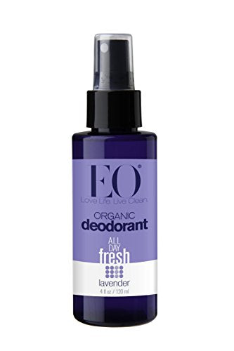 Eo Organic Deodorant Spray, Lavender, 4 Fluid Ounce ( 2-Pack) -  - EO Brands - ProducerDJ.Market