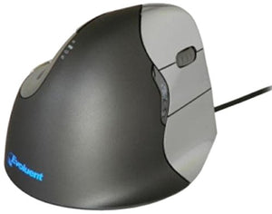 "Evoluent VerticalMouse 4 ""Regular Size"" Right Hand (model # VM4R) - USB Wired"