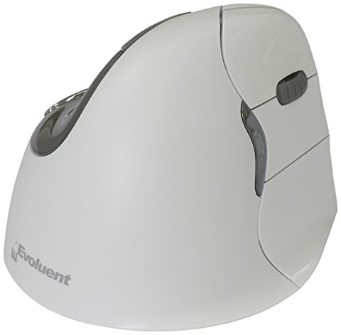 "Evoluent VerticalMouse 4 Right Hand ""Regular Size"" Bluetooth for MAC (VM4RB)"