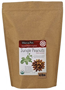 Wilderness Poets Jungle Peanuts - Organic & Raw - Bulk Amazonian Jungle Peanuts - 4 lb Pouch (64 oz) -  - Wilderness Poets - ProducerDJ.Market