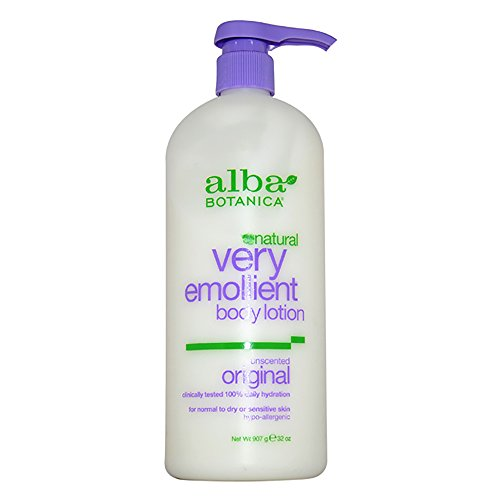 Alba Botanica Very Emollient, Unscented Body Lotion, 32 Ounce -  - Alba Botanica - ProducerDJ.Market