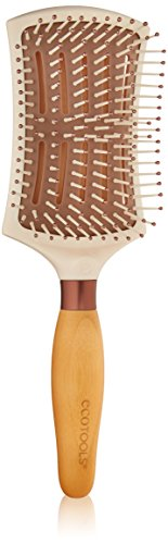 EcoTools Cruelty Free and Eco Friendly Smooth Detangler Paddle Brush, Made with Recycled and Sustainable Materials -  - EcoTools - ProducerDJ.Market