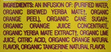 Organic Yerba Mate, Orange Exuberance, 15.5 Ounce (Pack of 12) -  - Guayaki - ProducerDJ.Market