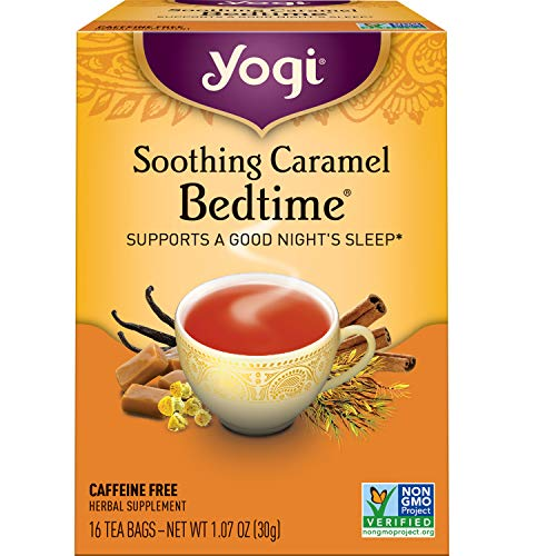 Yogi Tea - Soothing Caramel Bedtime (6 Pack) - Supports a Good Night's Sleep - 96 Tea Bags
