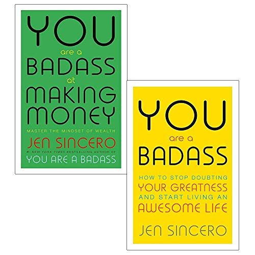 You Are a Badass & You Are a Badass at Making Money 2 Books Collection Set