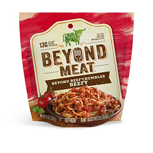 Beyond Meat, Beefy Beef-Free Crumbles, 10 oz (Frozen)