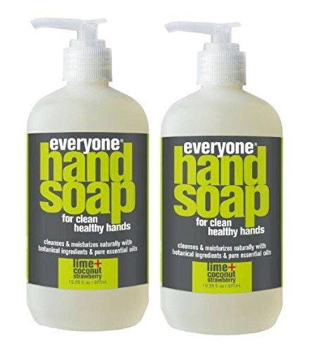 Everyone Lime and Coconut Hand Soap (Pack of 2) with Vitamin E, Coconut Extract, Lemon Peel Oil and Matricaria Flower Extract, 12.75 fl. oz. -  - Everyone - ProducerDJ.Market