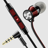 Sennheiser Momentum In Ear (iOS version) - Black Red