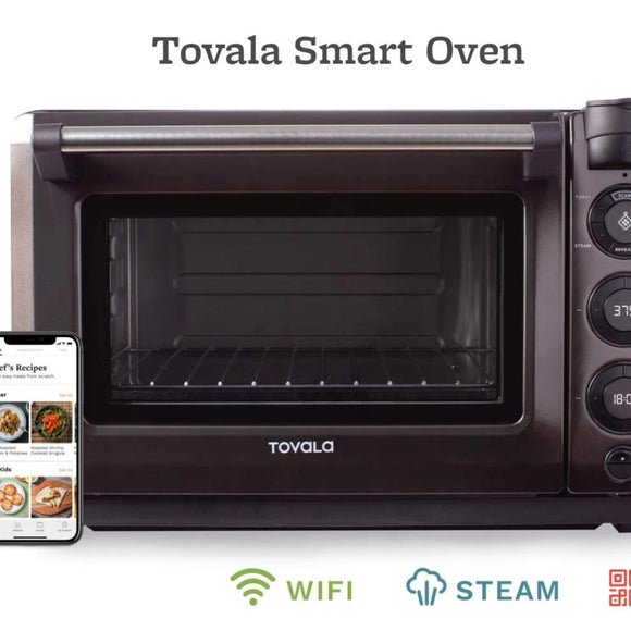 Tovala Gen 2 Smart Steam Oven | Countertop WiFi Oven | 5 Mode Programmable Oven