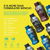 OWYN 100% Plant-Based Vegan Allergen-Friendly Protein-Shake Parent (Dark Chocolate - 12 Pack) -  - OWYN Only What You Need - ProducerDJ.Market