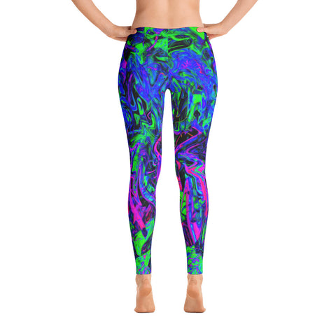 PlurthONEarth Abstract Leggings