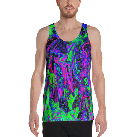 PlurthONEarth Abstract Men's Tank Top