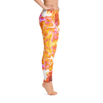 Just A Kick Drum Fractal Leggings