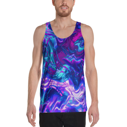 Soul Contracts Abstract Men's Tank Top