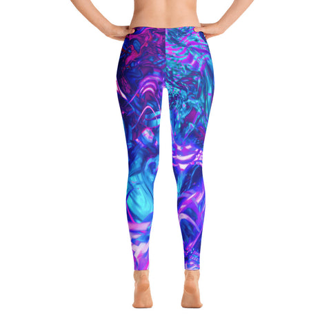 Soul Contracts Abstract Leggings