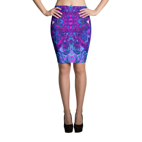 Soul Contracts Fractal Pencil Skirt