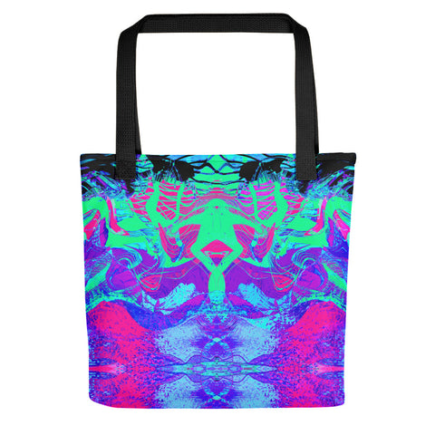 Kandi Flip Abstract Tote Bag
