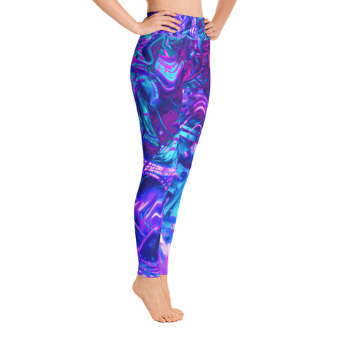Soul Contracts Abstract High Waisted Leggings