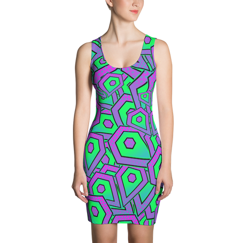 Intrepid Hearts Bodycon Dress