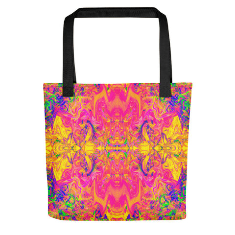 Monument To Love Fractal Tote Bag