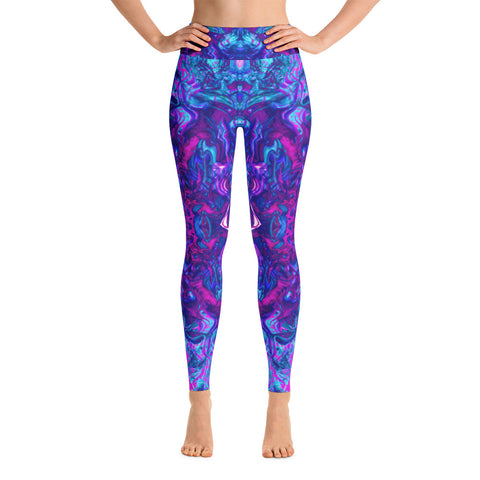 Soul Contracts Fractal High Waisted Leggings
