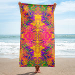 Monument To Love Fractal Beach Towel