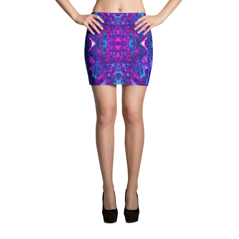 Soul Contracts Fractal Mini Skirt