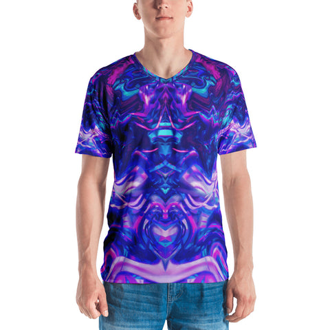 Soul Contracts Abstract Men's V-Neck
