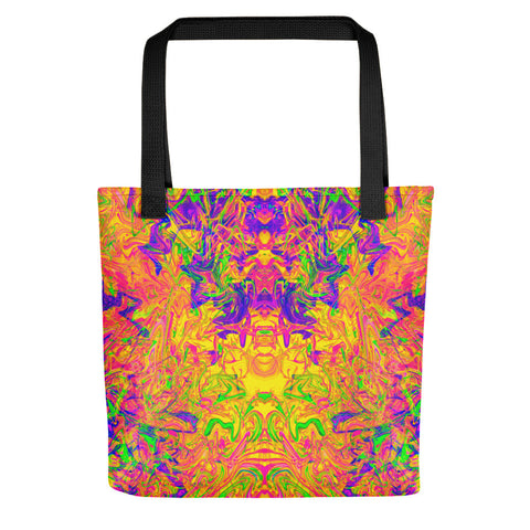Monument To Love Abstract Tote Bag
