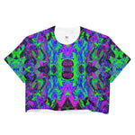 PlurthONEarth Fractal Crop Top