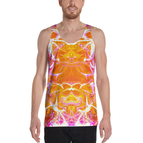 Just A Kick Drum Abstract Men's Tank Top