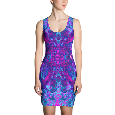 Soul Contracts Fractal Bodycon Dress