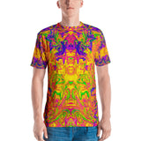 Monument To Love Abstract Men's T-Shirt