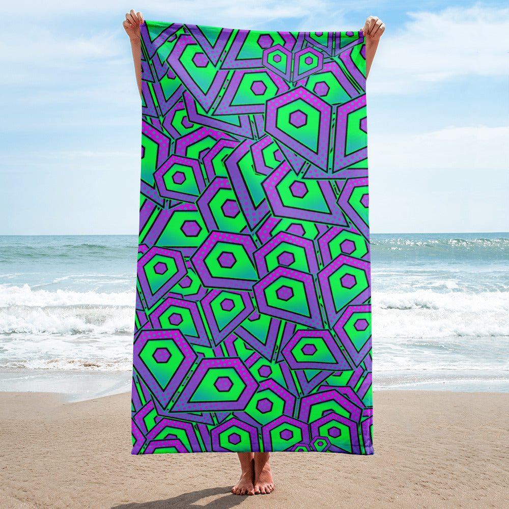 Intrepid Hearts Beach Towel