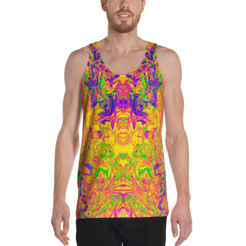 Monument To Love Abstract Men's Tank Top