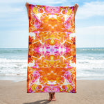 Just A Kick Drum Fractal Beach Towel