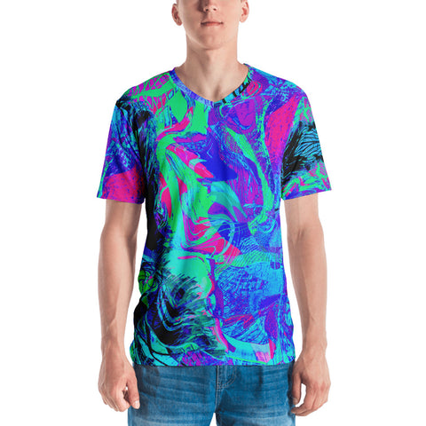 Kandi Flip Abstract Men's V-Neck
