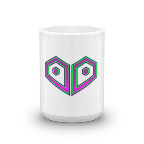 Plurthlings Casual Logo Gradient Coffee Mug