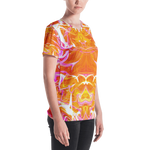 Just A Kick Drum Abstract Women's V-Neck