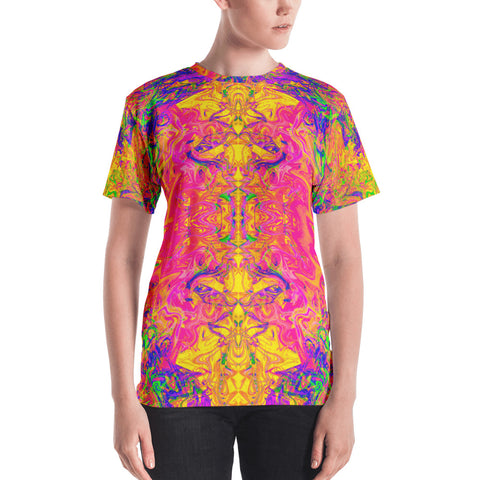 Monument To Love Fractal Women's T-Shirt