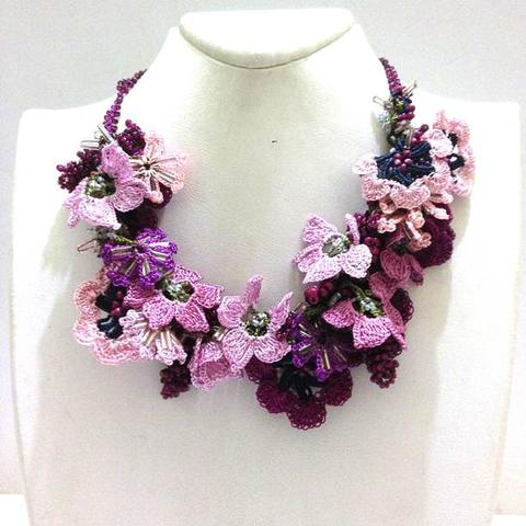 Bouquet Necklaces