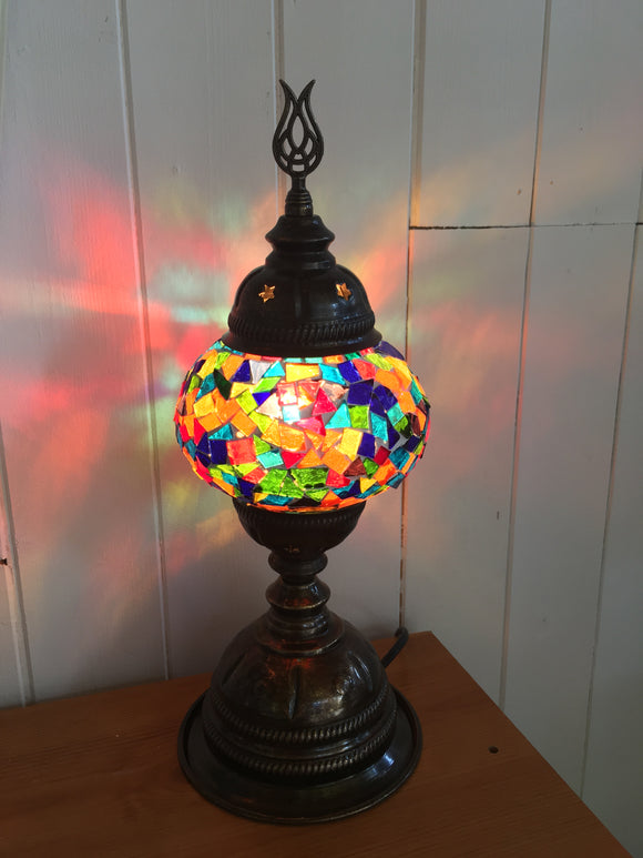 Mosaic Tiffany Table Lamps No 2 Glass