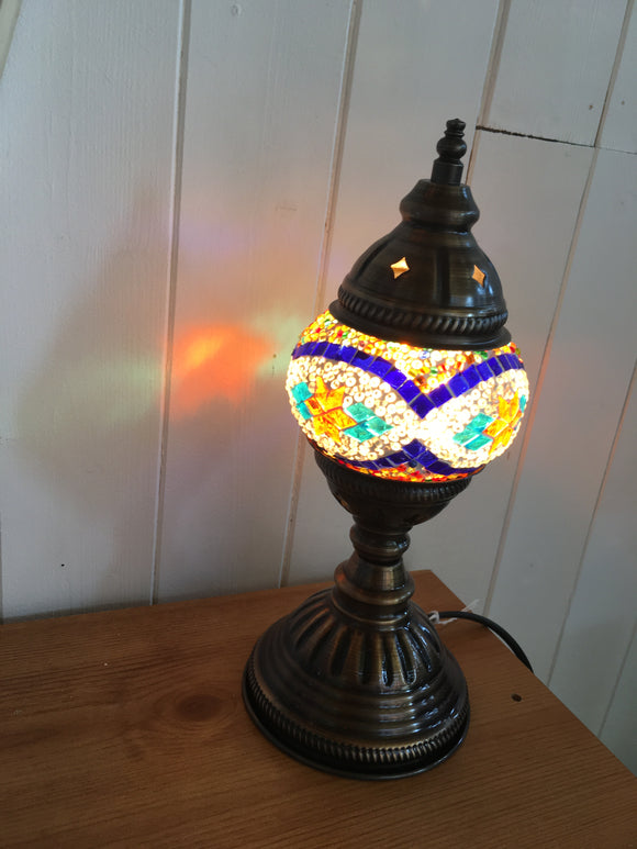 Mosaic Tiffany Small Table Lamps No 1 Glass
