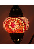 Handcrafted Mosaic Tiffany Curves/ Swan Table Lamp  015