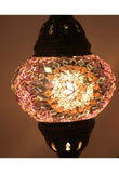 Handcrafted Mosaic Tiffany Curves/ Swan Table Lamp  023