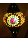 Handcrafted Mosaic Tiffany Curves/ Swan Table Lamp  029