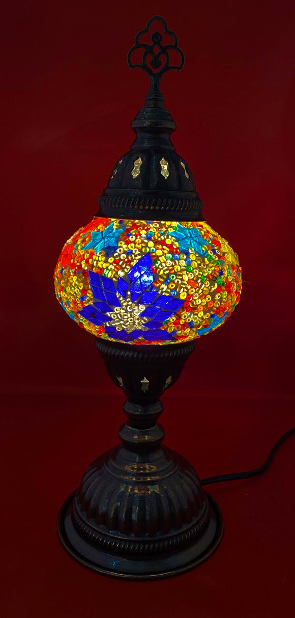 Handcrafted Mosaic Tiffany Table Lamp TMLN2-010