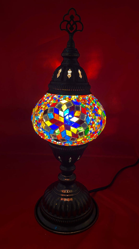 Handcrafted Mosaic Tiffany Table Lamp TMLN2-015